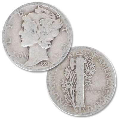 Image for 1926 Mercury Dime from Littleton Coin Company