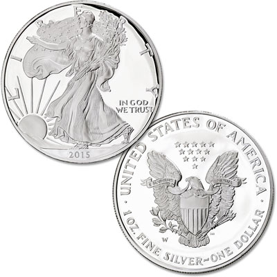 Image for 2015-W Silver American Eagle from Littleton Coin Company