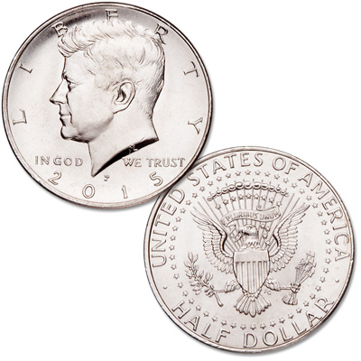Image for 2015-P Kennedy Half Dollar from Littleton Coin Company
