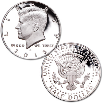 Image for 2015-S Kennedy Half Dollar from Littleton Coin Company