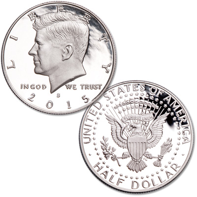 Image for 2015-S 90% Silver Kennedy Half Dollar from Littleton Coin Company