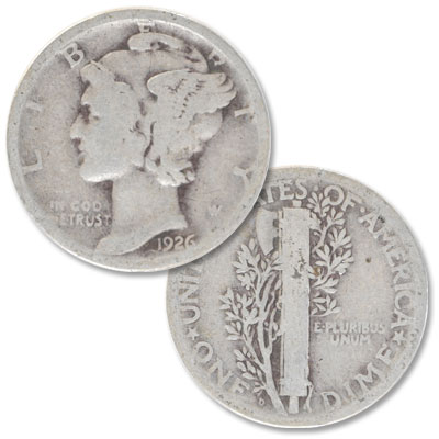 Image for 1926-D Mercury Dime from Littleton Coin Company