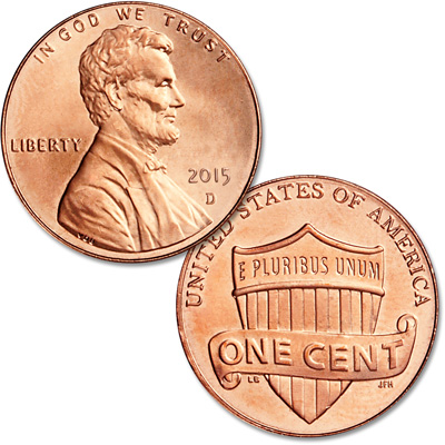 Image for 2015-D Lincoln Head Cent from Littleton Coin Company