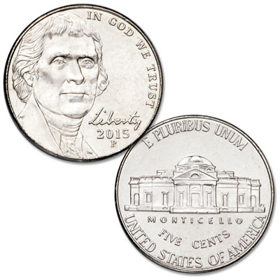 Image for 2015-P Jefferson Nickel from Littleton Coin Company