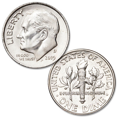 Image for 2015-D Roosevelt Dime from Littleton Coin Company