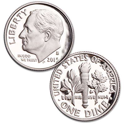 Image for 2015-S 90% Silver Roosevelt Dime from Littleton Coin Company