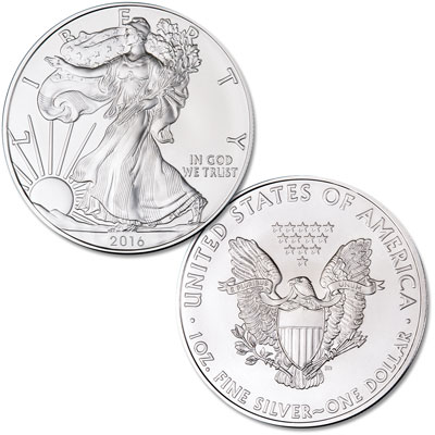 Image for 2016 $1 Silver American Eagle from Littleton Coin Company