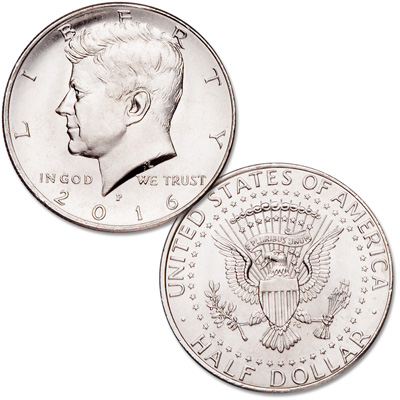 Image for 2016-P Kennedy Half Dollar from Littleton Coin Company
