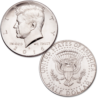 Image for 2016-D Kennedy Half Dollar from Littleton Coin Company