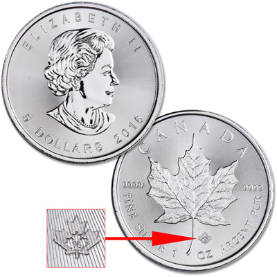 Image for 2016 Canada Silver $5 Maple Leaf from Littleton Coin Company