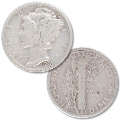 Image for 1930 Mercury Dime from Littleton Coin Company