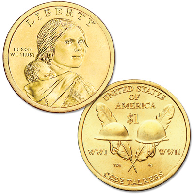 Image for 2016-D Native American Dollar from Littleton Coin Company