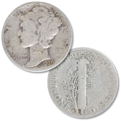 Image for 1930-S Mercury Dime from Littleton Coin Company