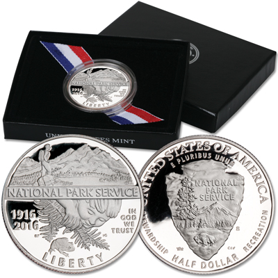Image for 2016-S National Park Service Clad Half Dollar from Littleton Coin Company