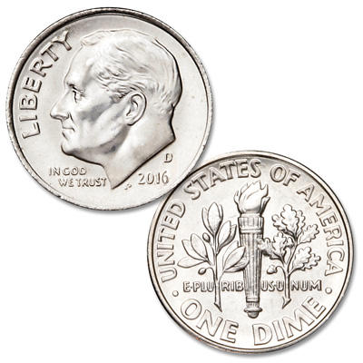 Image for 2016-D Roosevelt Dime from Littleton Coin Company