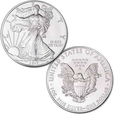 Image for 2017 $1 Silver American Eagle from Littleton Coin Company