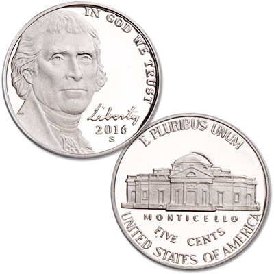 Image for 2016-S Jefferson Nickel from Littleton Coin Company