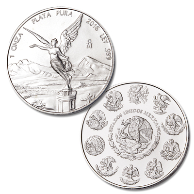 Image for 2016 Mexico 1 oz. Silver Libertad from Littleton Coin Company