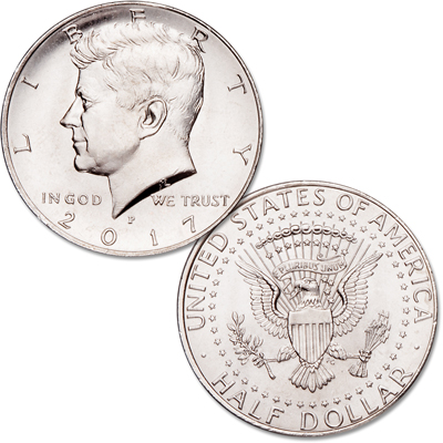 Image for 2017-P Kennedy Half Dollar from Littleton Coin Company