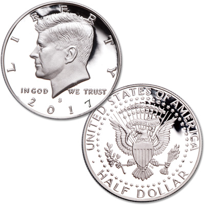 Image for 2017-S Clad Kennedy Half Dollar from Littleton Coin Company