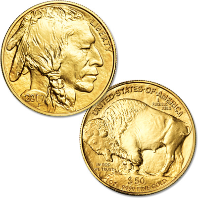 Image for 2017 $50 1 oz. Gold American Buffalo from Littleton Coin Company