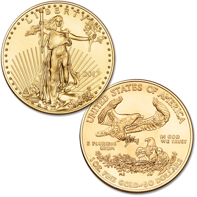 Image for 2017 $50 1 oz. Gold American Eagle from Littleton Coin Company