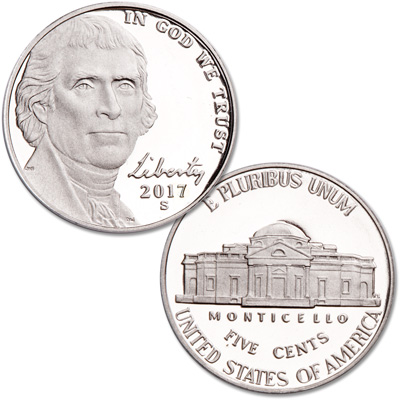 Image for 2017-S Jefferson Nickel from Littleton Coin Company