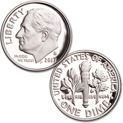 Image for 2017-S 90% Silver Roosevelt Dime from Littleton Coin Company