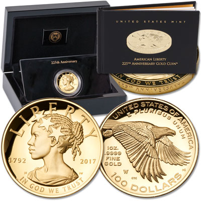 Image for 2017-W Gold $100 American Liberty from Littleton Coin Company