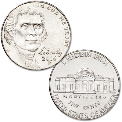 Image for 2017-D Jefferson Nickel from Littleton Coin Company