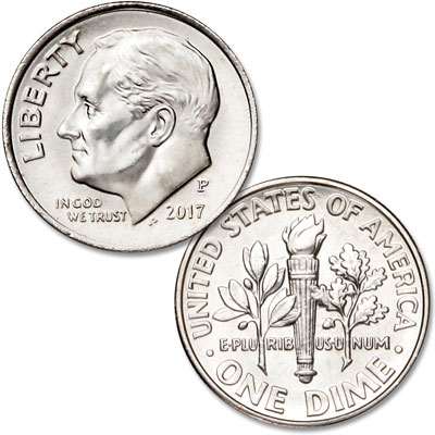 Image for 2017-P Roosevelt Dime from Littleton Coin Company
