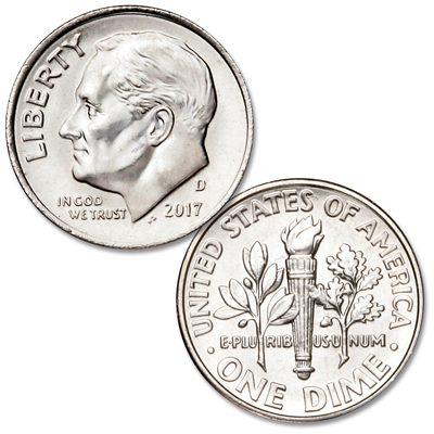 Image for 2017-D Roosevelt Dime from Littleton Coin Company