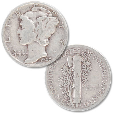Image for 1940-D Mercury Dime from Littleton Coin Company