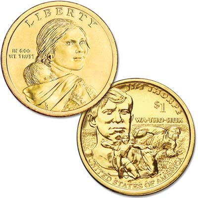 Image for 2018-D Native American Dollar from Littleton Coin Company