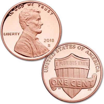 Image for 2018-S Lincoln Head Cent from Littleton Coin Company
