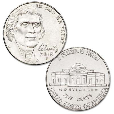 Image for 2018-P Jefferson Nickel from Littleton Coin Company