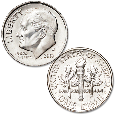 Image for 2018-D Roosevelt Dime from Littleton Coin Company