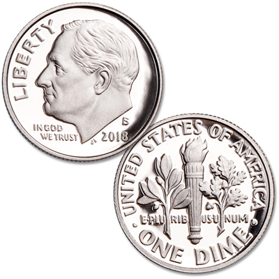 Image for 2018-S Roosevelt Dime from Littleton Coin Company