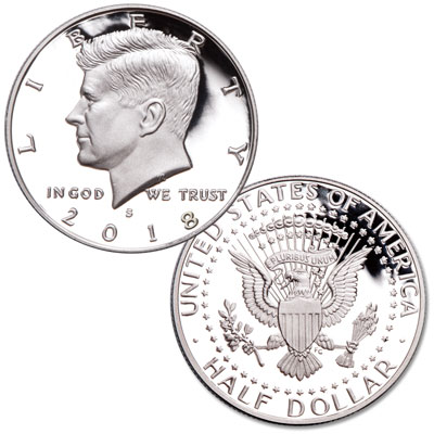 Image for 2018-S Clad Kennedy Half Dollar from Littleton Coin Company