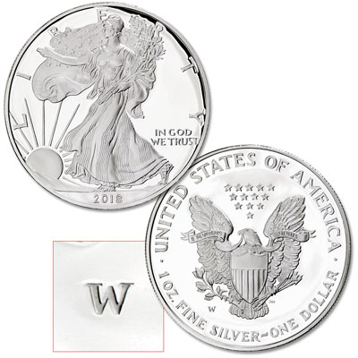 Image for 2018-W Silver American Eagle from Littleton Coin Company