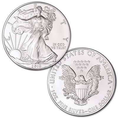 Image for 2019 $1 Silver American Eagle from Littleton Coin Company
