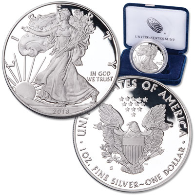 Image for 2018-S Silver American Eagle from Littleton Coin Company