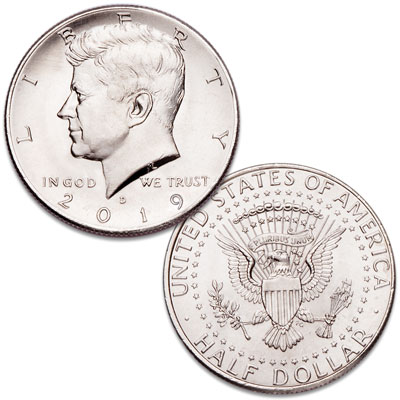 Image for 2019-D Kennedy Half Dollar from Littleton Coin Company