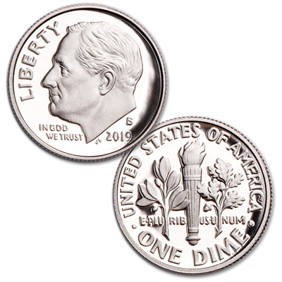 Image for 2019-S Roosevelt Dime from Littleton Coin Company