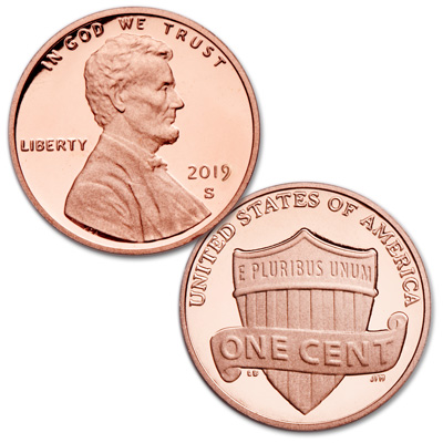 Image for 2019-S Lincoln Head Cent from Littleton Coin Company