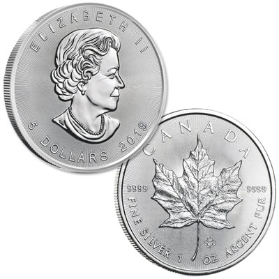 Image for 2019 Canada Silver $5 Maple Leaf from Littleton Coin Company