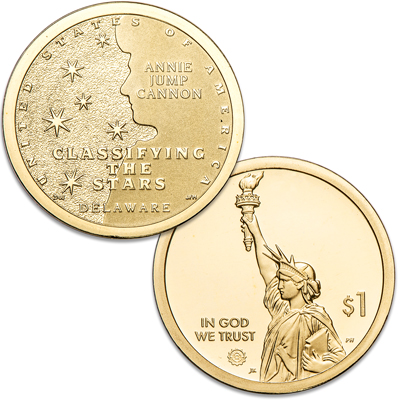 Image for 2019-S Delaware U.S. Innovation Dollar from Littleton Coin Company