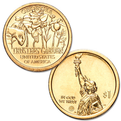Image for 2019-D Georgia U.S. Innovation Dollar from Littleton Coin Company