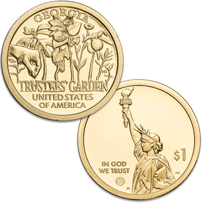 Image for 2019-S Georgia U.S. Innovation Dollar from Littleton Coin Company
