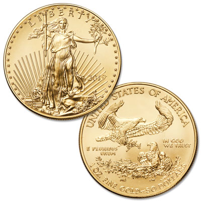 Image for 2019 $50 1 oz. Gold American Eagle from Littleton Coin Company